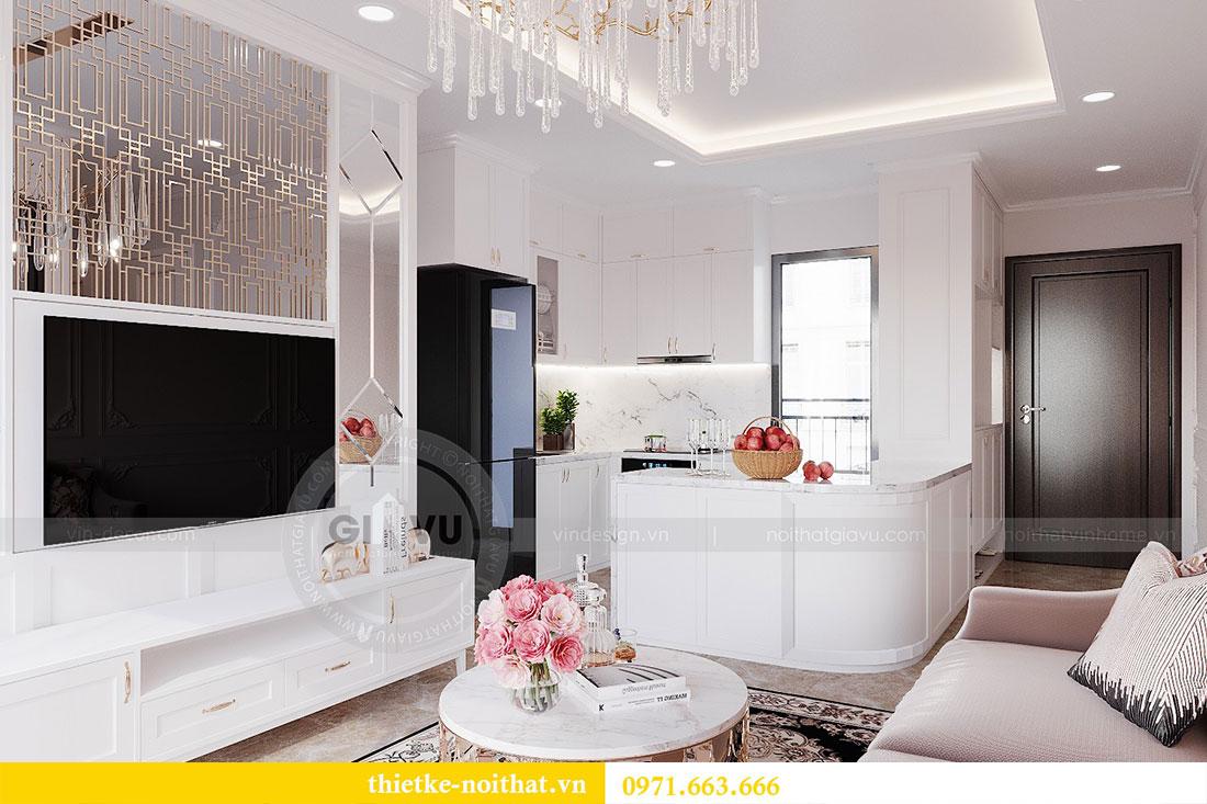 Thiết kế nội thất căn hộ Dcapitale tòa C6 căn 02 - anh Chiến 3