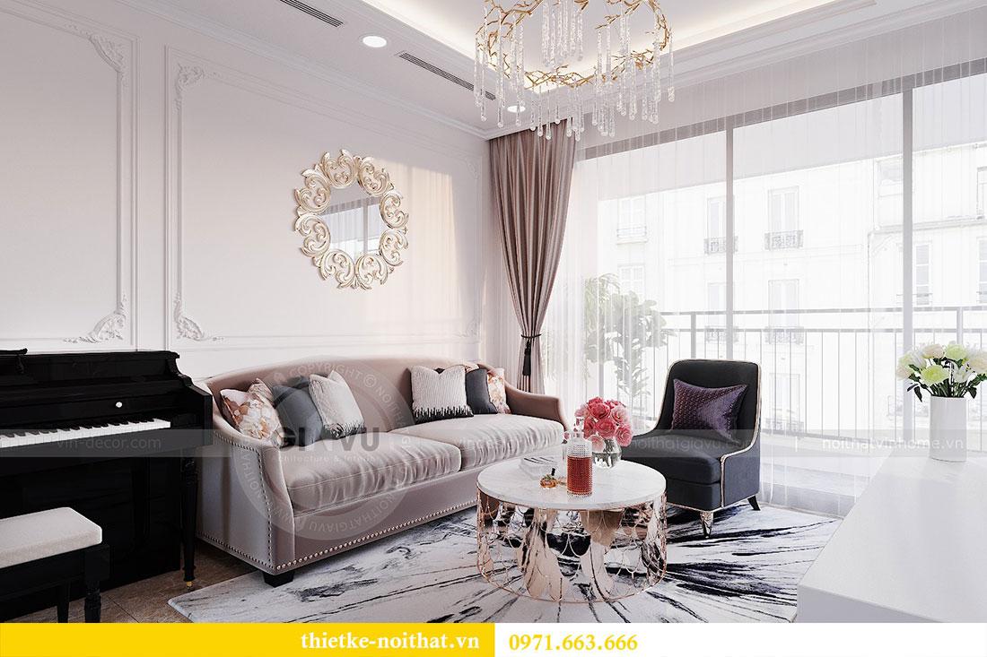 Thiết kế nội thất căn hộ Dcapitale tòa C6 căn 02 - anh Chiến 4