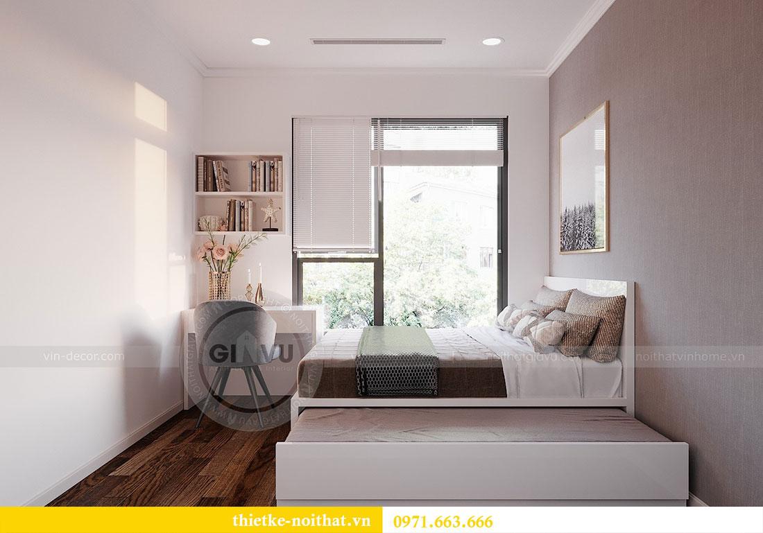 Thiết kế nội thất căn hộ Dcapitale tòa C6 căn 02 - anh Chiến 9