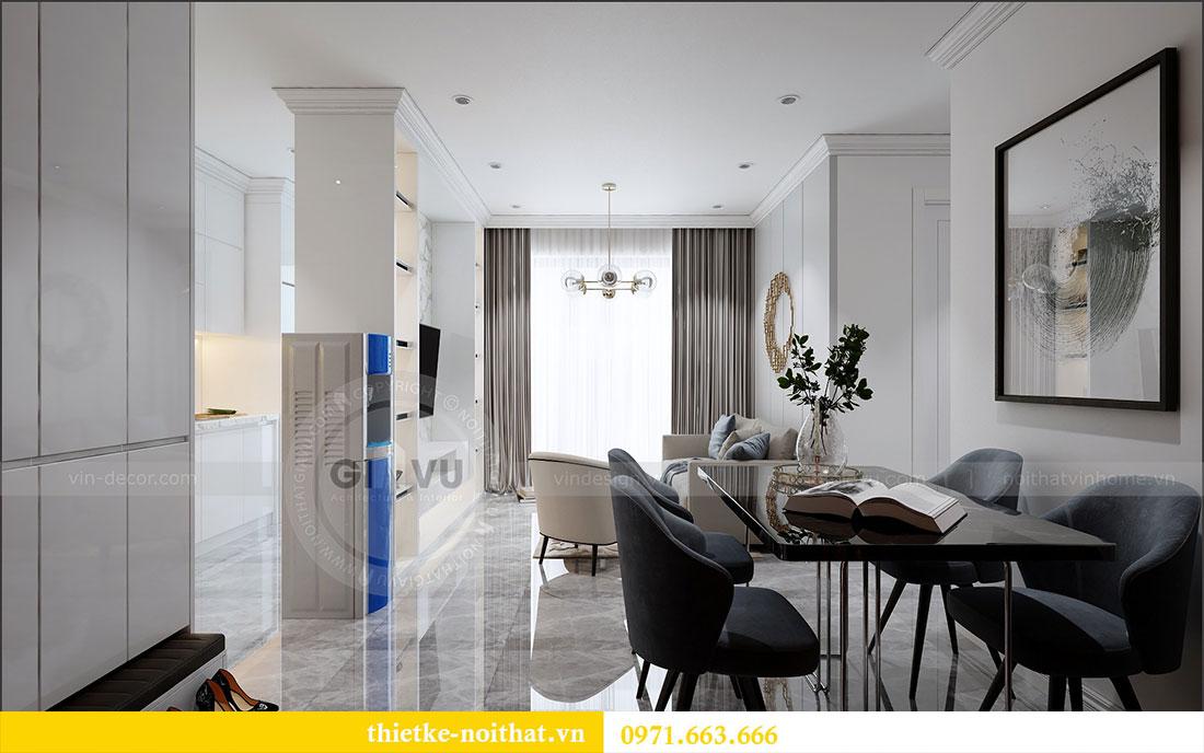 Thiết kế nội thất chung cư 2 ngủ tại Dcapitale - chị Hoa 1