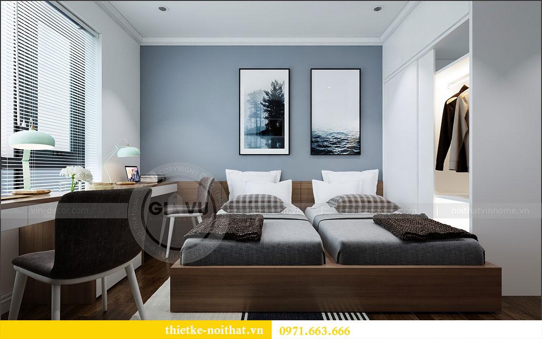Thiết kế nội thất chung cư 2 ngủ tại Dcapitale - chị Hoa 10