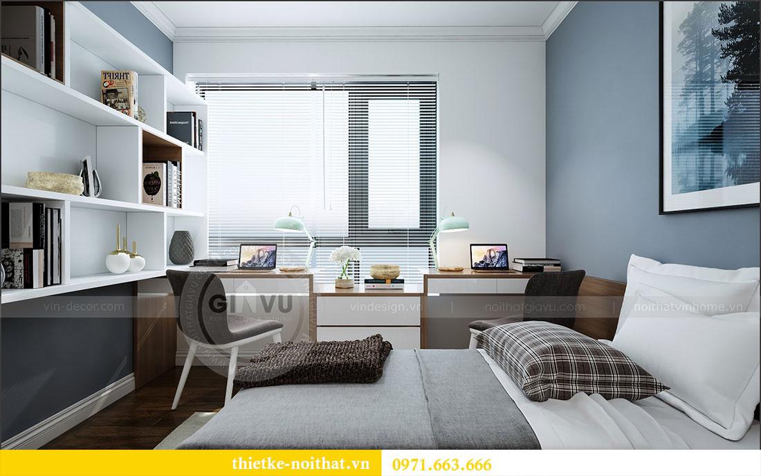 Thiết kế nội thất chung cư 2 ngủ tại Dcapitale - chị Hoa 11