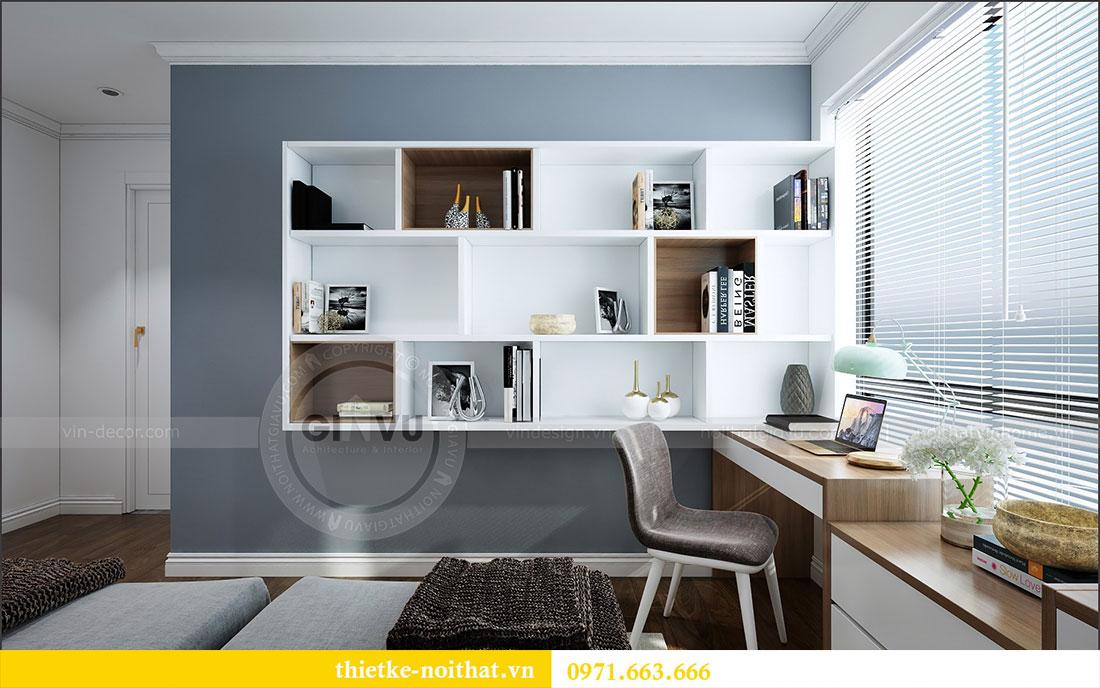 Thiết kế nội thất chung cư 2 ngủ tại Dcapitale - chị Hoa 13
