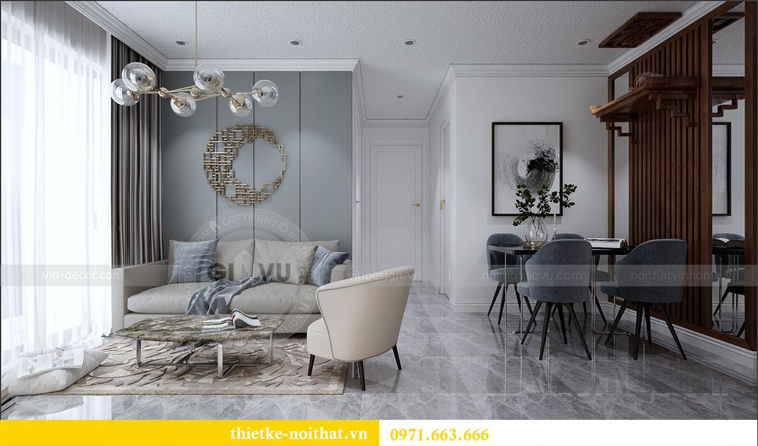 Thiết kế nội thất chung cư 2 ngủ tại Dcapitale - chị Hoa 3