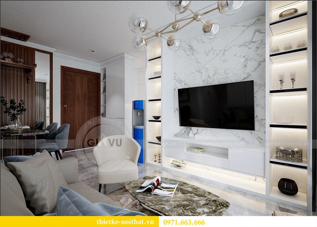 Thiết kế nội thất chung cư 2 ngủ tại Dcapitale - chị Hoa 4