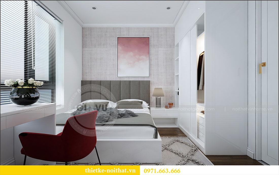 Thiết kế nội thất chung cư 2 ngủ tại Dcapitale - chị Hoa 7