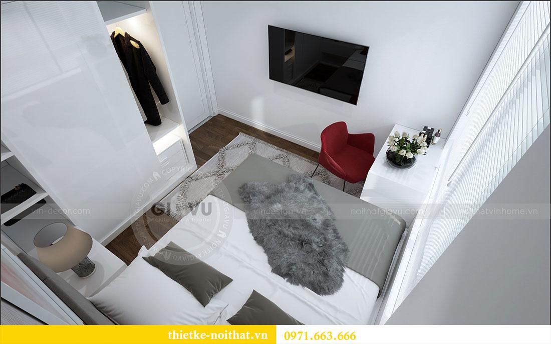 Thiết kế nội thất chung cư 2 ngủ tại Dcapitale - chị Hoa 8