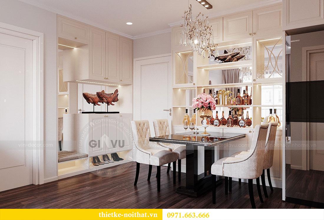 Thiết kế nội thất chung cư cao cấp tòa C3 căn 02 - cô Lệ 1
