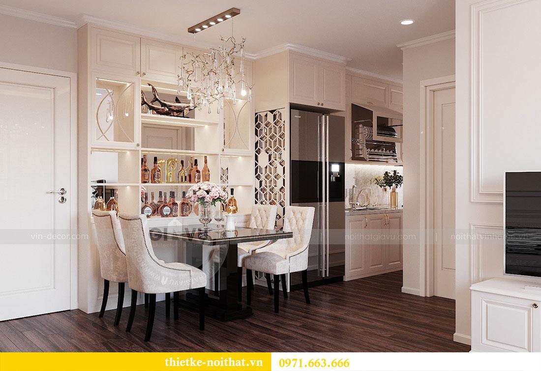Thiết kế nội thất chung cư cao cấp tòa C3 căn 02 - cô Lệ 2