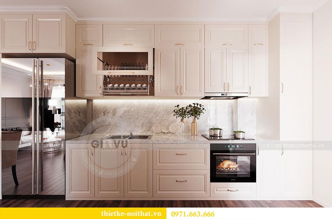 Thiết kế nội thất chung cư cao cấp tòa C3 căn 02 - cô Lệ 3