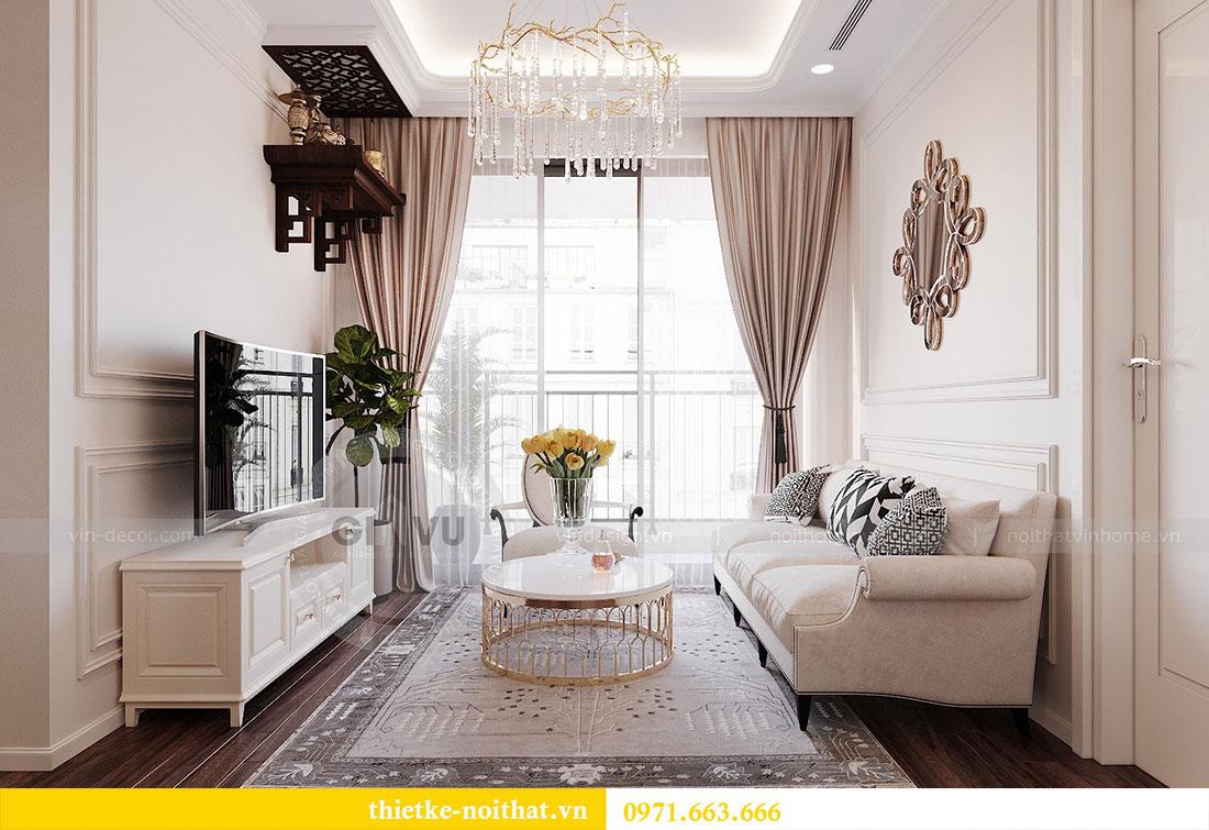 Thiết kế nội thất chung cư cao cấp tòa C3 căn 02 - cô Lệ 4