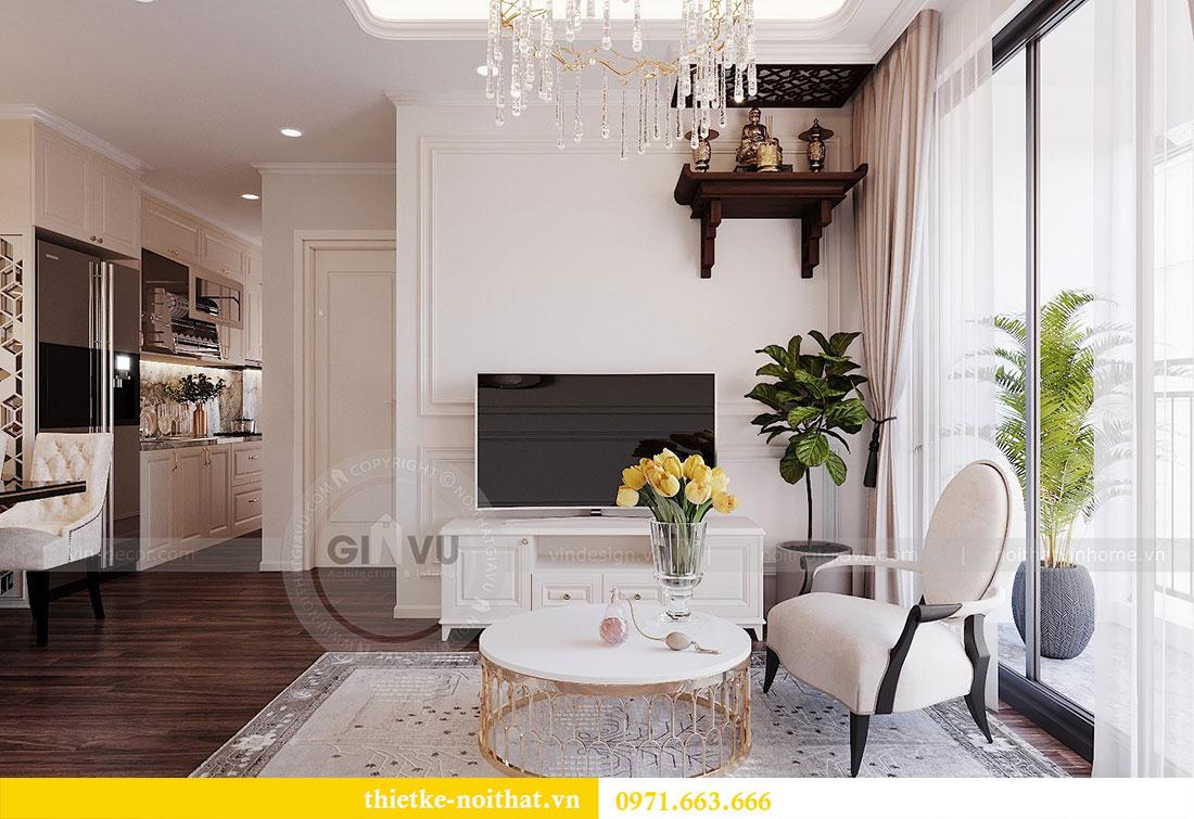 Thiết kế nội thất chung cư cao cấp tòa C3 căn 02 - cô Lệ 5