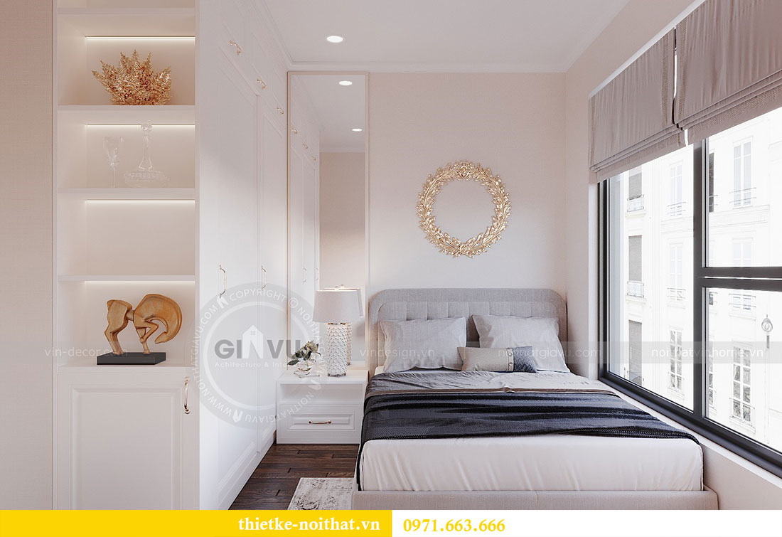 Thiết kế nội thất chung cư cao cấp tòa C3 căn 02 - cô Lệ 8