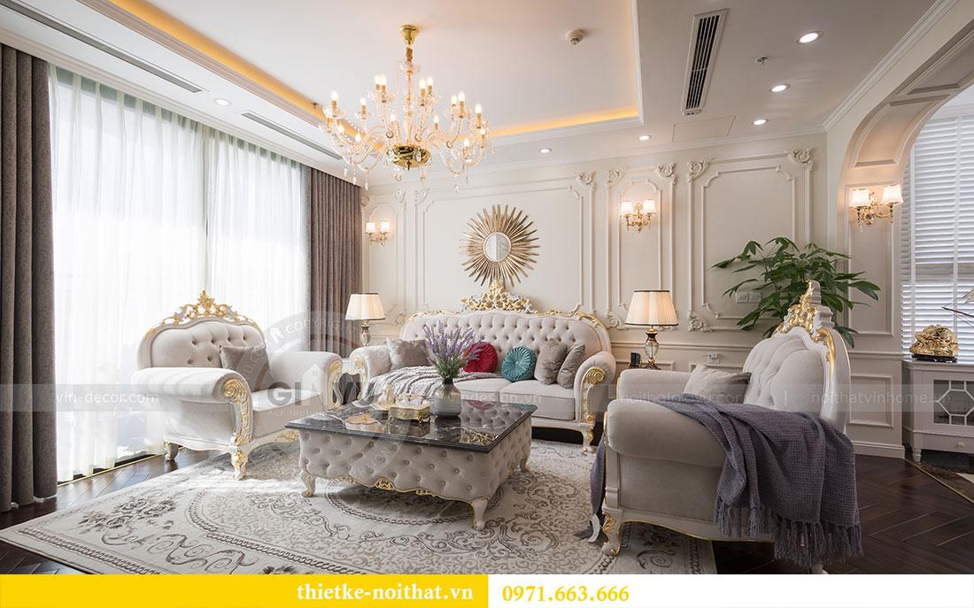 Mẫu thiết kế nội thất chung cư đẹp phong cách tân cổ điển 3