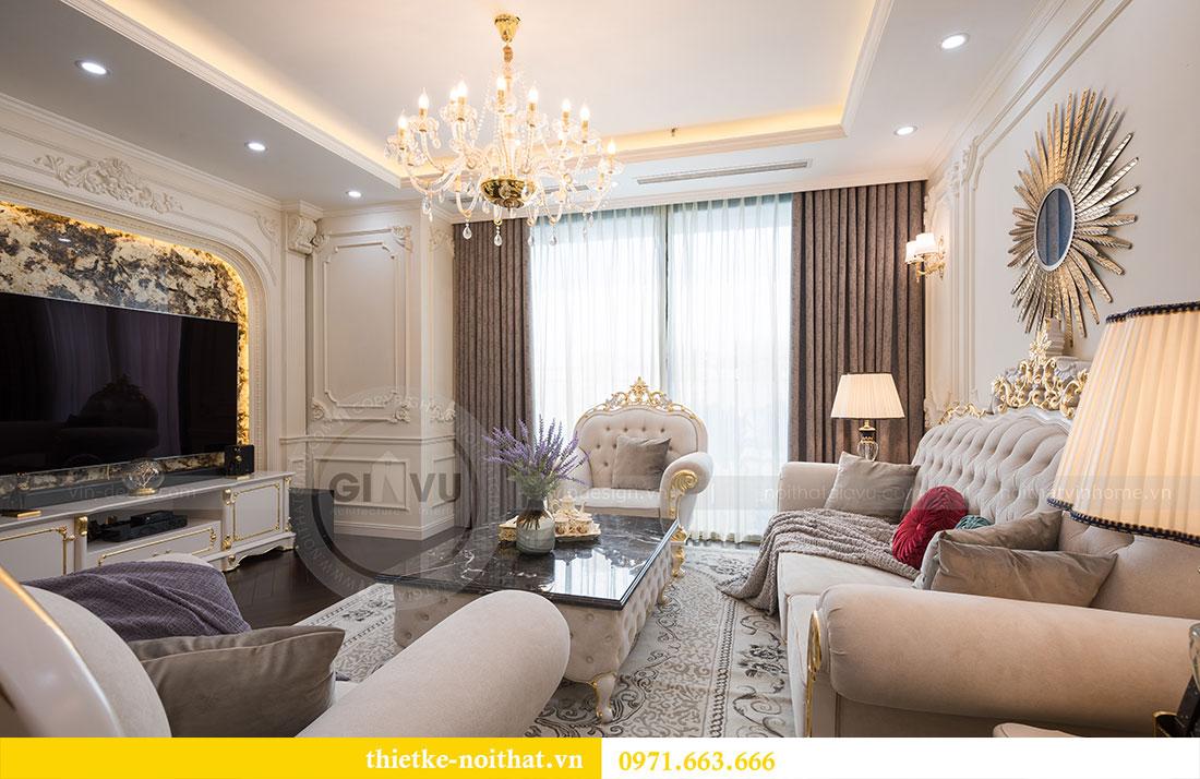 Mẫu thiết kế nội thất chung cư đẹp phong cách tân cổ điển 4