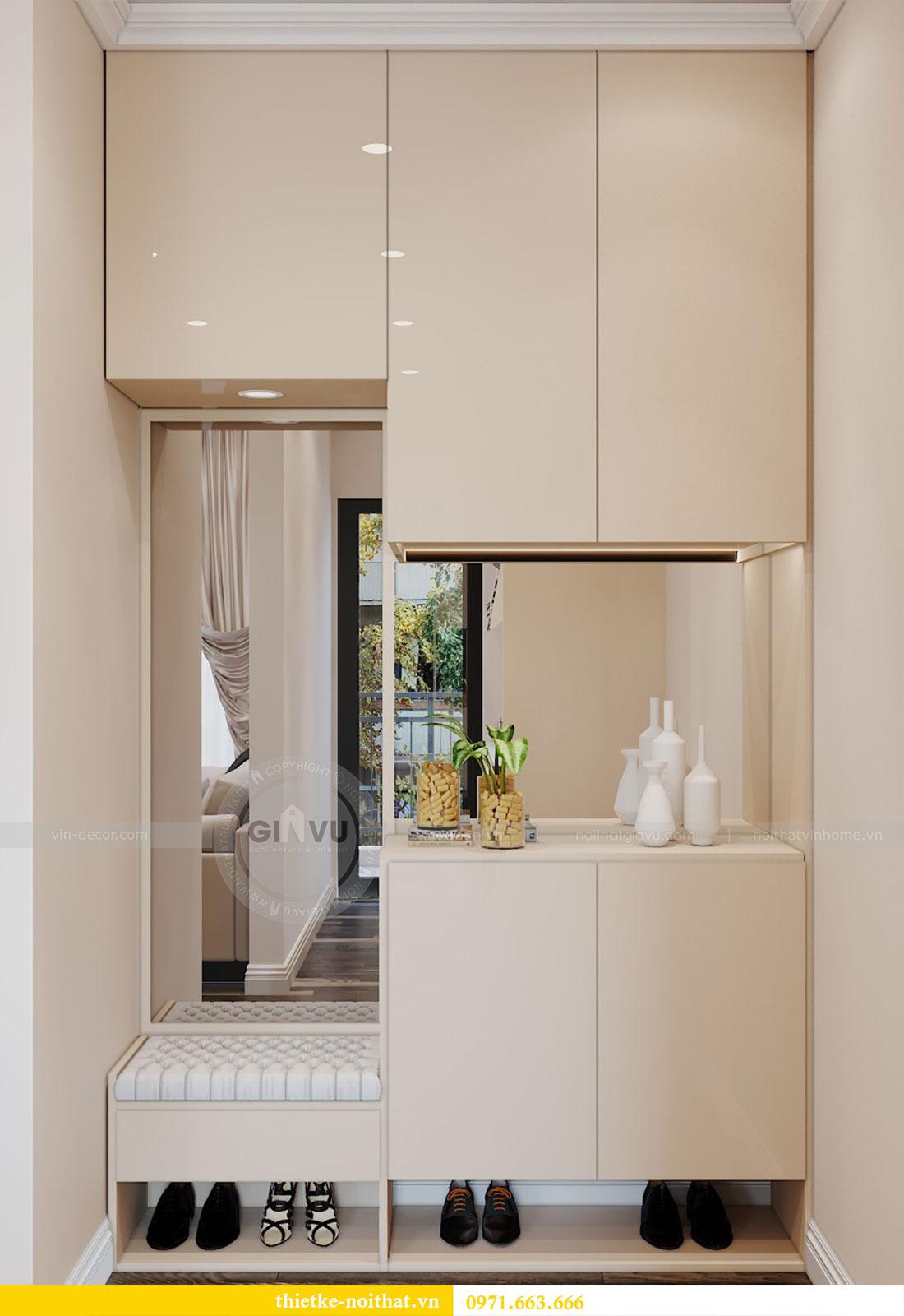Thiết kế nội thất chung cư tại Dcapitale tòa C109 - chị Huyền 1