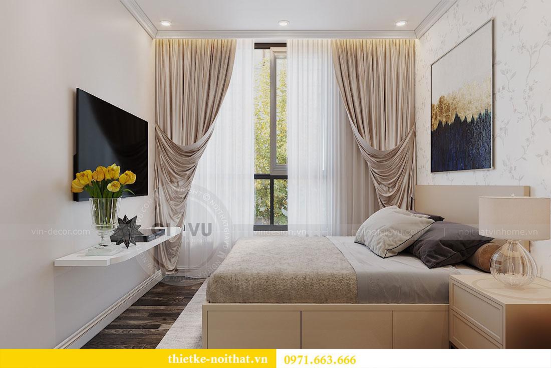 Thiết kế nội thất chung cư tại Dcapitale tòa C109 - chị Huyền 10