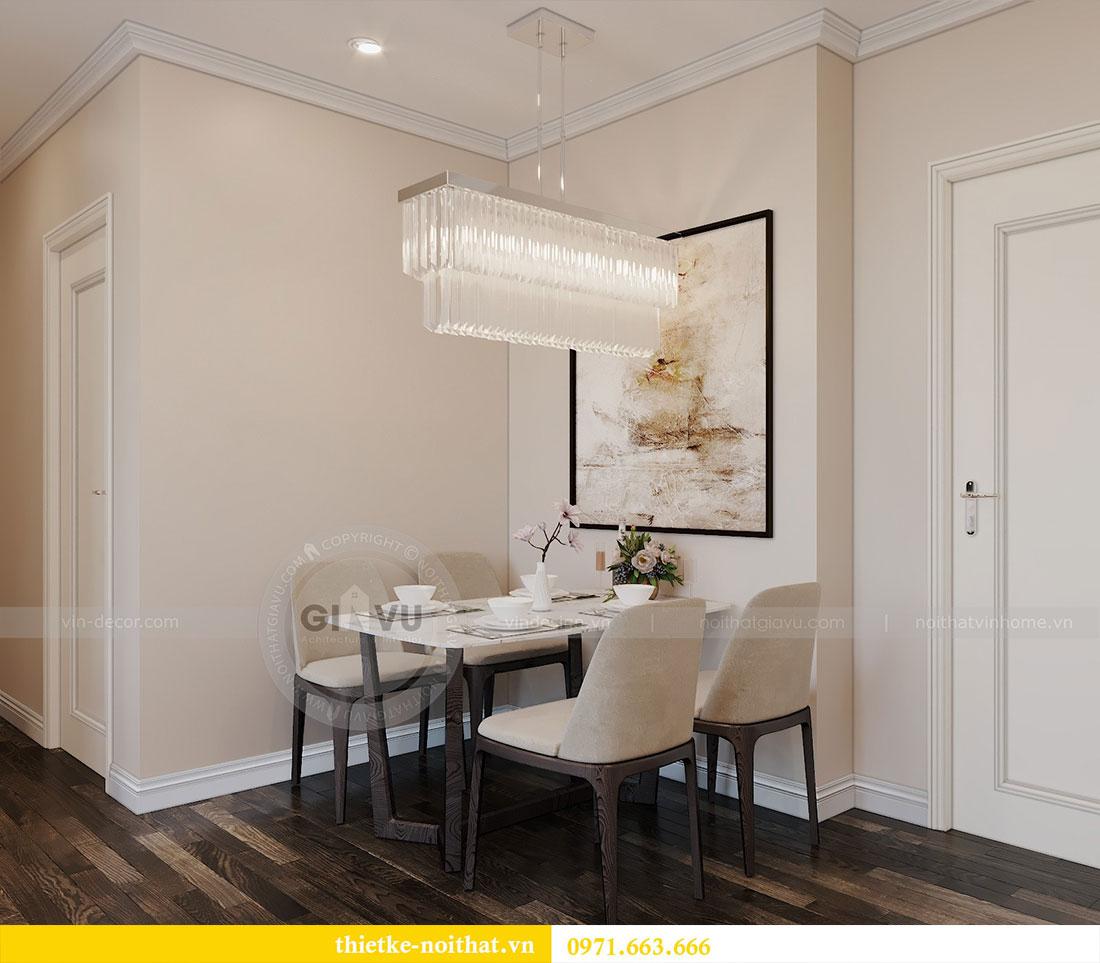 Thiết kế nội thất chung cư tại Dcapitale tòa C109 - chị Huyền 2