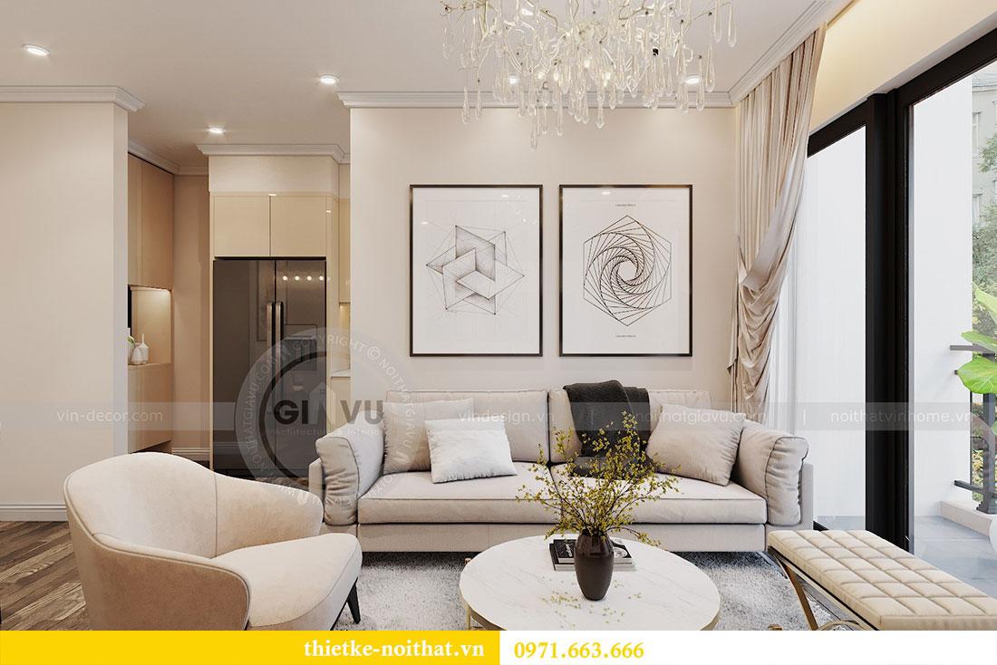 Thiết kế nội thất chung cư tại Dcapitale tòa C109 - chị Huyền 5