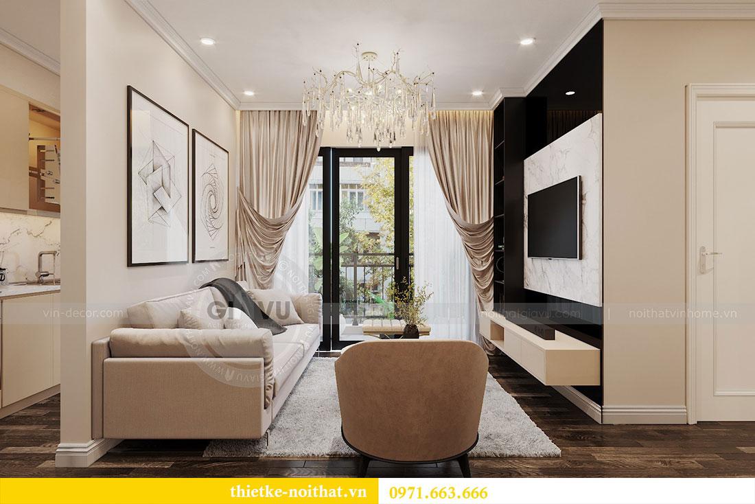 Thiết kế nội thất chung cư tại Dcapitale tòa C109 - chị Huyền 6