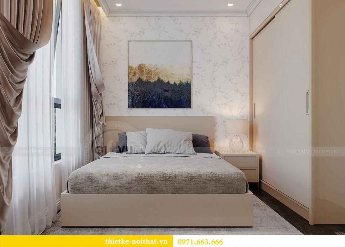 Thiết kế nội thất chung cư tại Dcapitale tòa C109 - chị Huyền 9