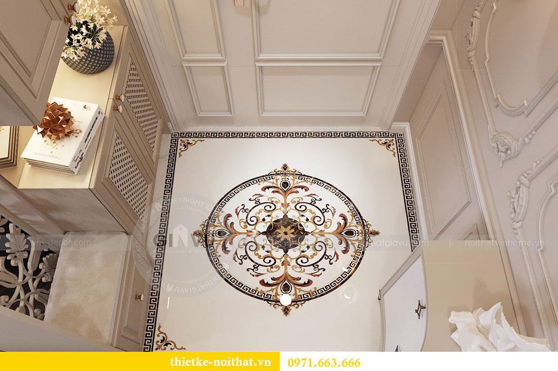 Thiết kế nội thất chung cư Vinhomes Metropolis phong cách tân cổ điển 1