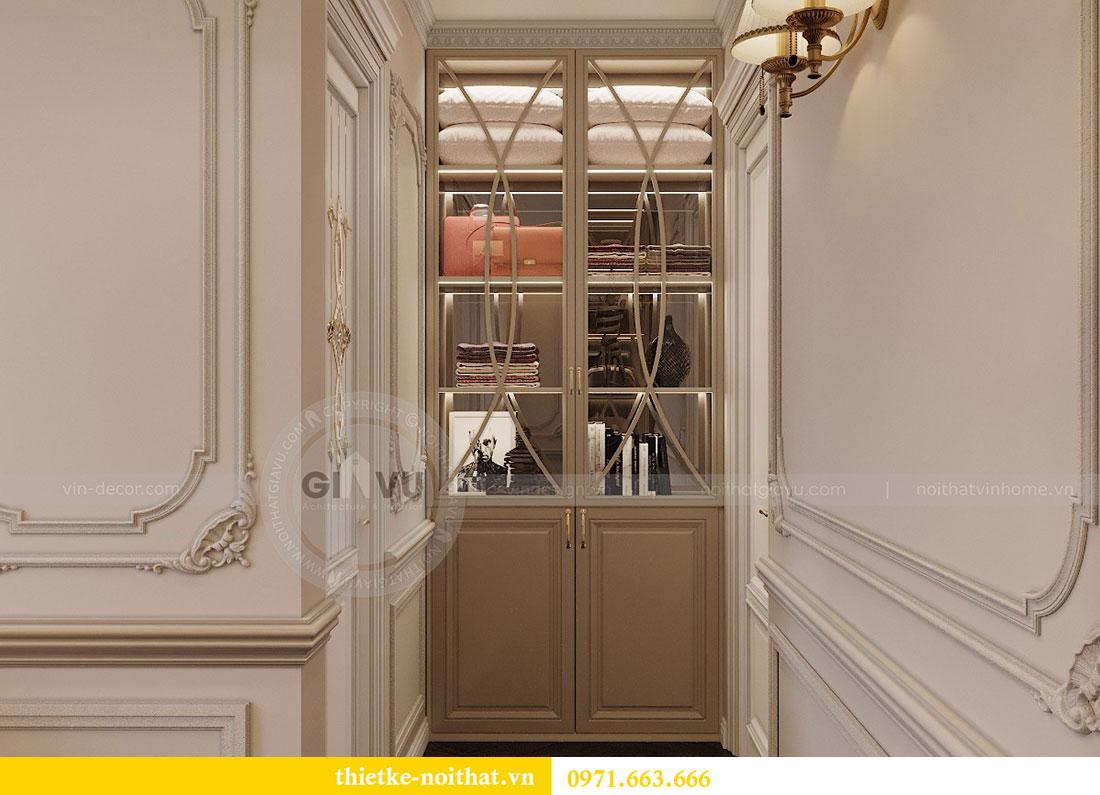 Thiết kế nội thất chung cư Vinhomes Metropolis phong cách tân cổ điển 10
