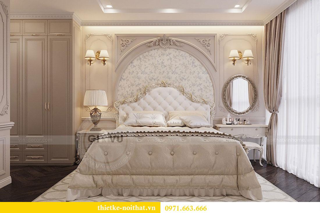Thiết kế nội thất chung cư Vinhomes Metropolis phong cách tân cổ điển 11