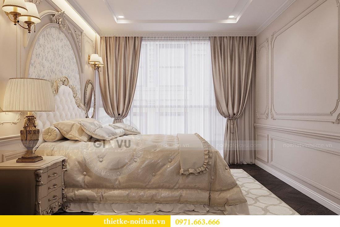 Thiết kế nội thất chung cư Vinhomes Metropolis phong cách tân cổ điển 13