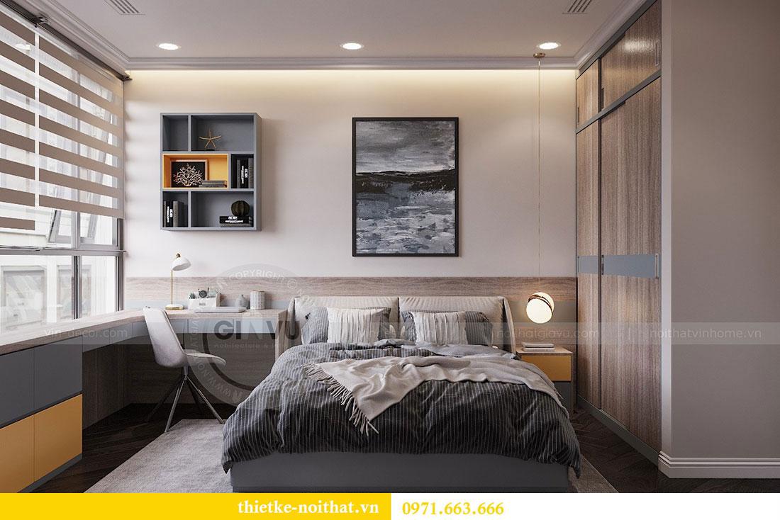 Thiết kế nội thất chung cư Vinhomes Metropolis phong cách tân cổ điển 4