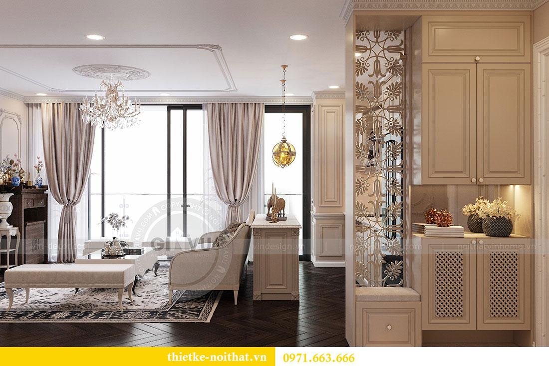 Thiết kế nội thất chung cư Vinhomes Metropolis phong cách tân cổ điển 2