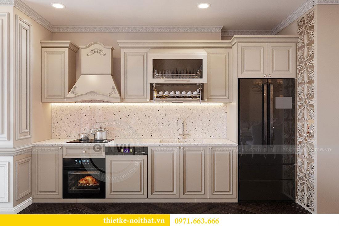 Thiết kế nội thất chung cư Vinhomes Metropolis phong cách tân cổ điển 3