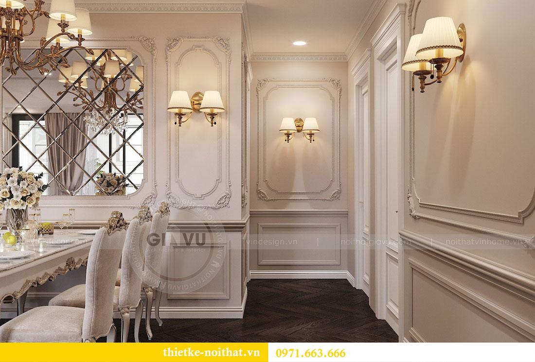 Thiết kế nội thất chung cư Vinhomes Metropolis phong cách tân cổ điển 7