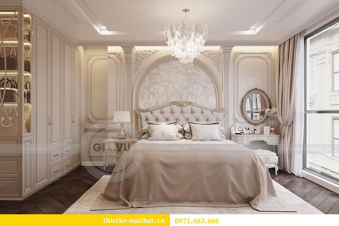 Thiết kế nội thất chung cư Vinhomes Metropolis phong cách tân cổ điển 8