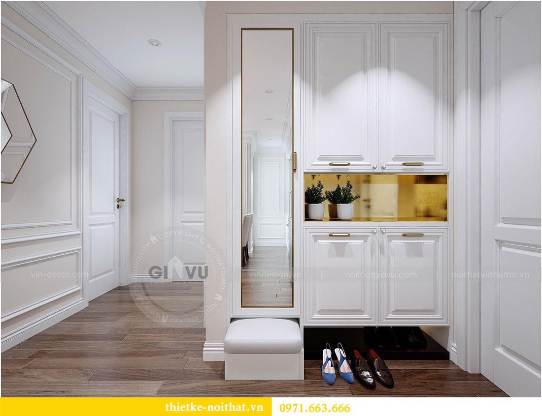 Thiết kế nội thất Vinhomes Dcapitale căn 2 phòng ngủ - chị Hiên 1