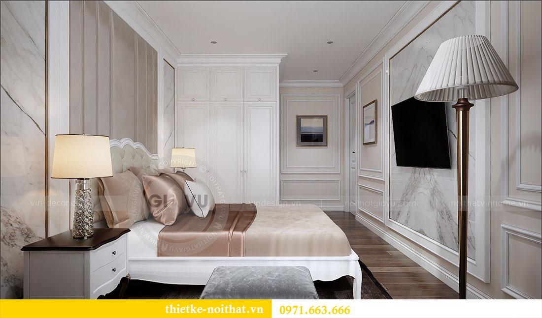 Thiết kế nội thất Vinhomes Dcapitale căn 2 phòng ngủ - chị Hiên 10