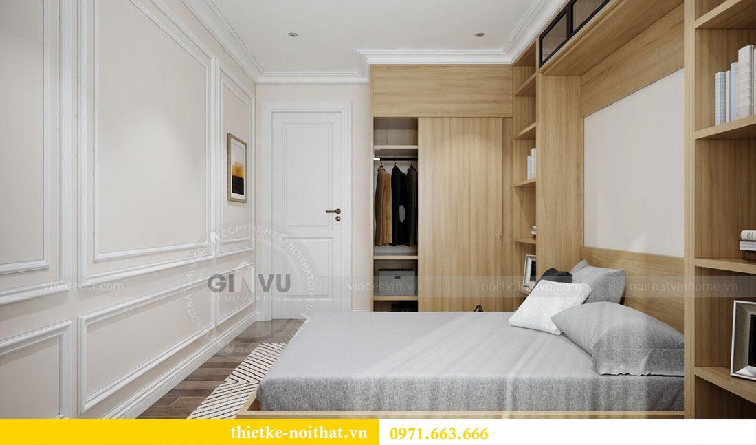 Thiết kế nội thất Vinhomes Dcapitale căn 2 phòng ngủ - chị Hiên 12