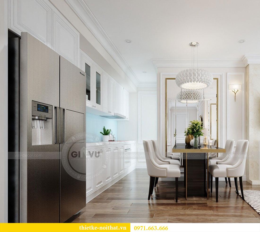 Thiết kế nội thất Vinhomes Dcapitale căn 2 phòng ngủ - chị Hiên 2