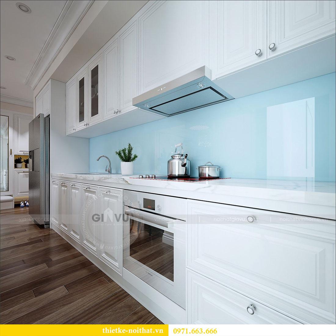 Thiết kế nội thất Vinhomes Dcapitale căn 2 phòng ngủ - chị Hiên 3
