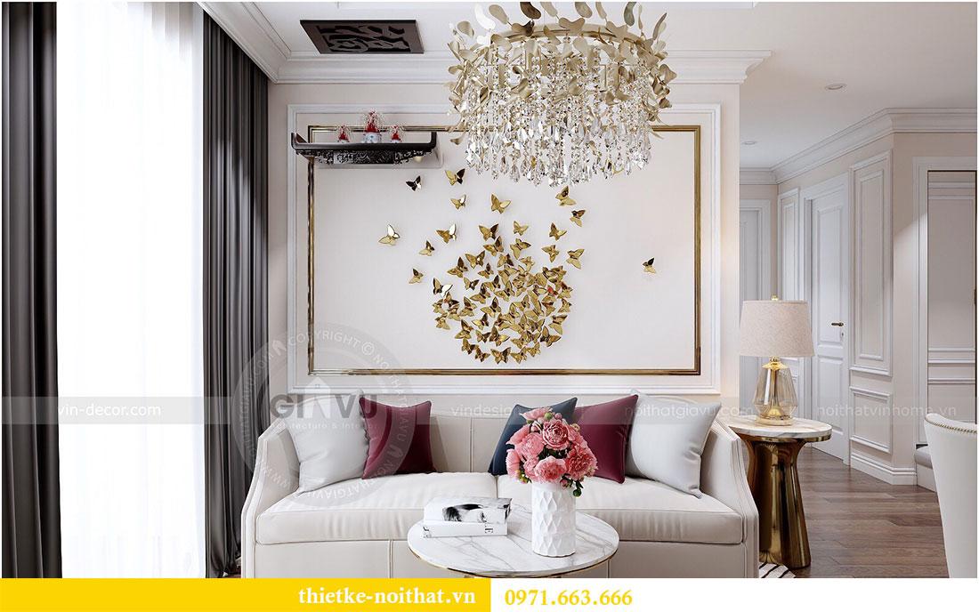 Thiết kế nội thất Vinhomes Dcapitale căn 2 phòng ngủ - chị Hiên 4