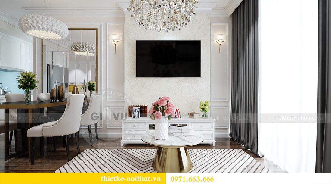 Thiết kế nội thất Vinhomes Dcapitale căn 2 phòng ngủ - chị Hiên 6