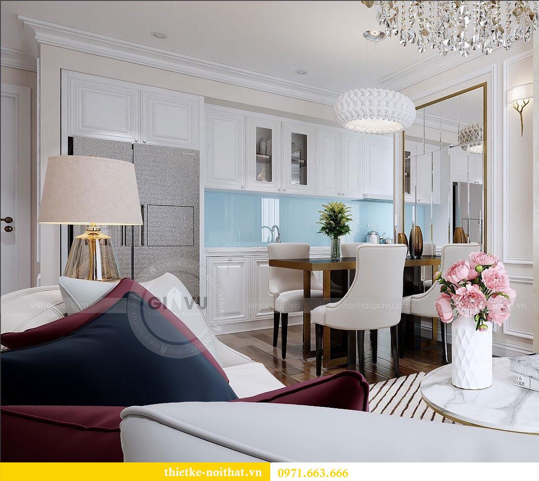 Thiết kế nội thất Vinhomes Dcapitale căn 2 phòng ngủ - chị Hiên 7