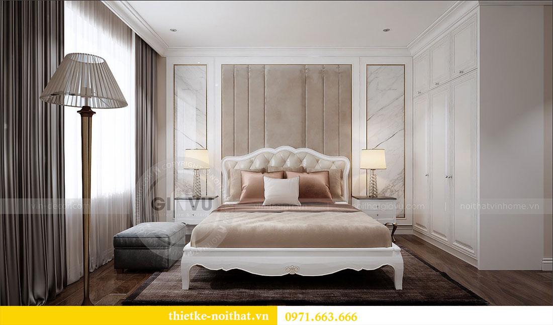 Thiết kế nội thất Vinhomes Dcapitale căn 2 phòng ngủ - chị Hiên 8