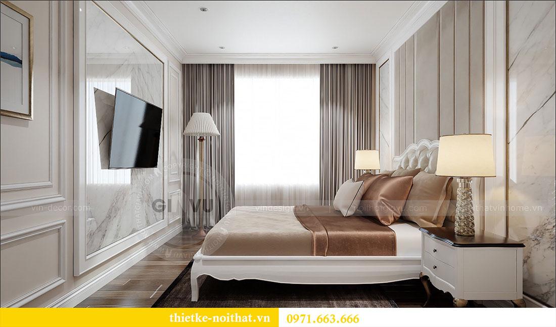 Thiết kế nội thất Vinhomes Dcapitale căn 2 phòng ngủ - chị Hiên 9