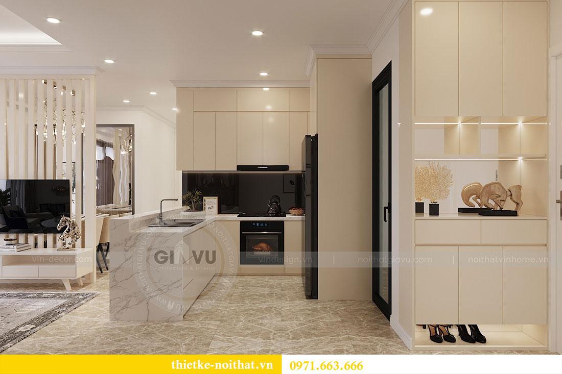 Thiết kế thi công nội thất căn 09 tòa C3 chung cư Dcapitale - chị Huế 1