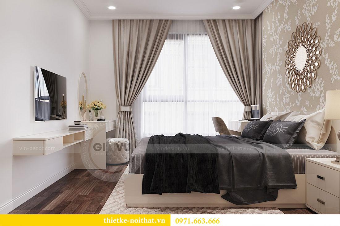 Thiết kế thi công nội thất căn 09 tòa C3 chung cư Dcapitale - chị Huế 11