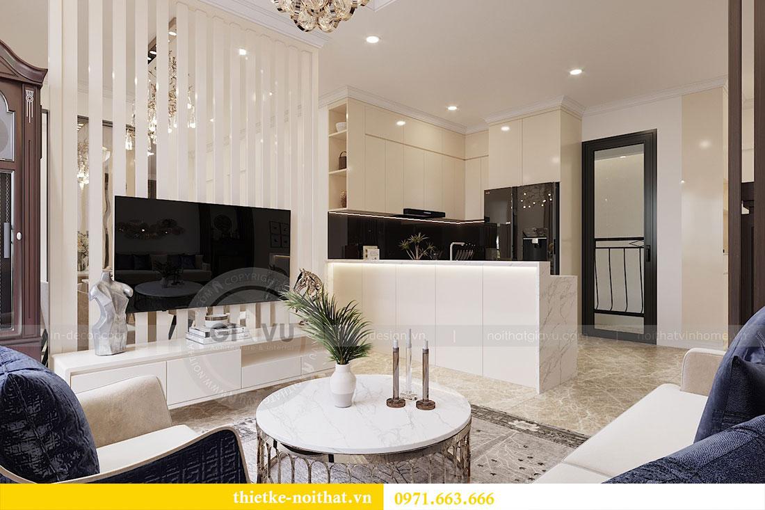 Thiết kế thi công nội thất căn 09 tòa C3 chung cư Dcapitale - chị Huế 4
