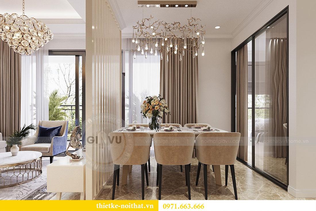 Thiết kế thi công nội thất căn 09 tòa C3 chung cư Dcapitale - chị Huế 5