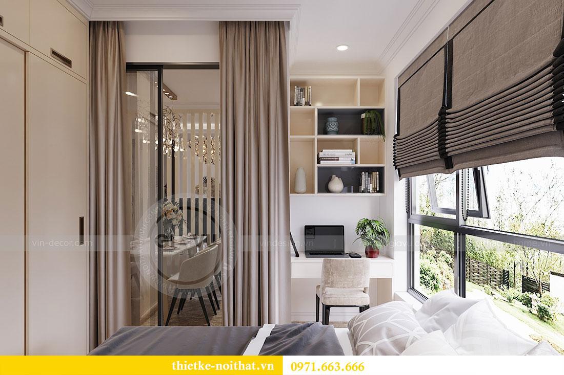 Thiết kế thi công nội thất căn 09 tòa C3 chung cư Dcapitale - chị Huế 9