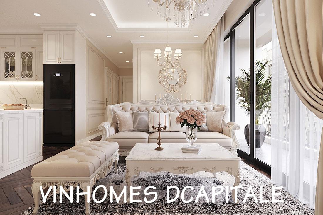 Khám phá thiết kế nội thất căn hộ chung cư 85m2 tại dự án Dcapitale